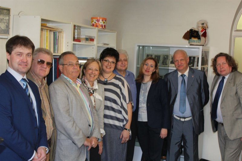 The delegation of the SUAI paid visit to the University of Genova (Università degli Studi di Genova)