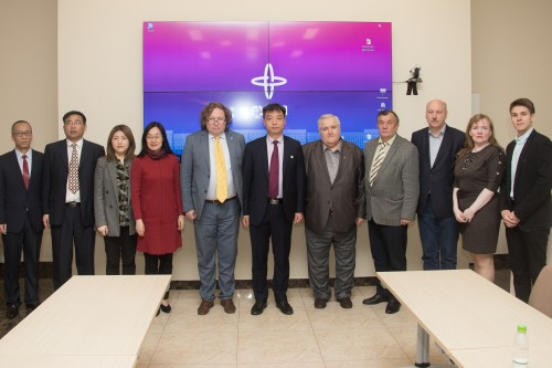 Zhongyuan University of Technology Visits SUAI